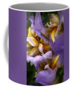 Glowing Iris' Coffee Mug
