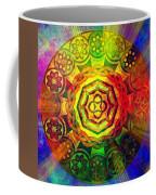 Glowing Mandala Coffee Mug