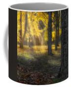 Glowing Maples Square Coffee Mug