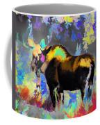 Electric Moose Coffee Mug