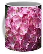 Glowing Pink Hydrangea Coffee Mug