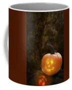 Glowing Pumpkin Coffee Mug