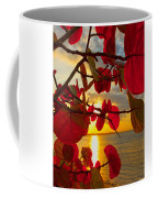 Glowing Red Coffee Mug by Stephen Anderson