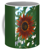 Glowing Red Sunflower Coffee Mug