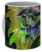 Glowing Sunflower Coffee Mug