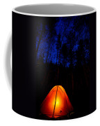 Glowing Tent Coffee Mug by Cale Best