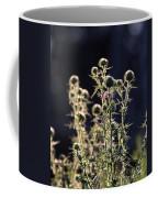 Glowing Thistle - 2 Coffee Mug