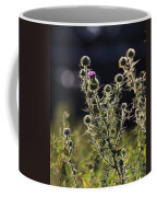 Glowing Thistle - 1 Coffee Mug
