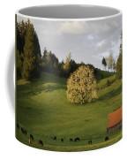 Glowing Tree Moss Coffee Mug by Denise Bird