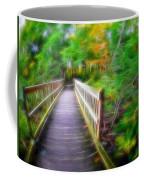 Glowing Trees Coffee Mug