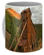 Glowing Under The Storm Clouds Coffee Mug