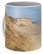 Glyne Gap Cliffs In Sussex Coffee Mug