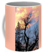 Gnarled Tree Silhouette Coffee Mug