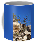 Gnarly Joshua Tree Coffee Mug by Barbara Snyder