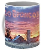 Go Broncos Colorado Country Coffee Mug