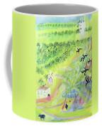 Goa, India, 1998 Oil On Paper Coffee Mug
