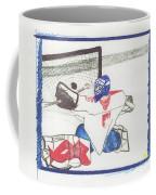 Goalie By Jrr Coffee Mug