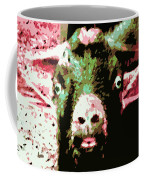 Goat Abstract Coffee Mug
