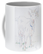 Goat Drawing Coffee Mug