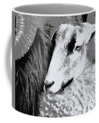 Goat Snuggled In With Family Coffee Mug