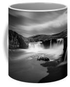 Godafoss Coffee Mug by Dave Bowman
