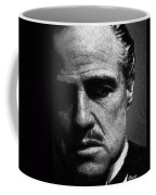 Godfather Marlon Brando Coffee Mug by Tony Rubino