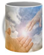 God's Saving Hand Coffee Mug