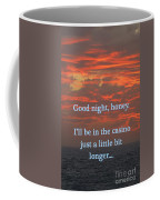 Going Down Coffee Mug