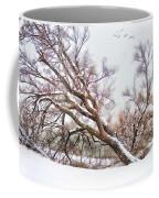 Going Softly Into Winter Coffee Mug by Betty LaRue