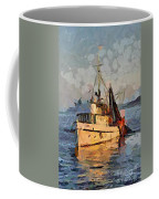 Going To Night Fishing Coffee Mug