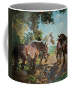 Going To Pasture Coffee Mug