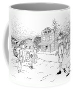 Walking To School Coffee Mug