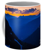 Going-to-the-sun Sunset Coffee Mug