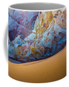 Gold And Blue Coffee Mug