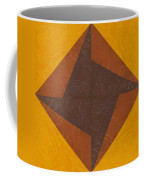 Gold And Brown Pinwheel Coffee Mug