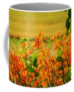 Gold And Orange Landscape Coffee Mug