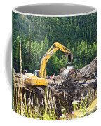 Gold At The End Of The Rainbow Along Taylor Highway-ak Coffee Mug