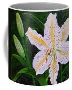 Gold Band Lily Coffee Mug