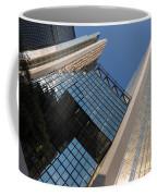 Gold Black And Blue Geometry - Royal Bank Plaza Coffee Mug