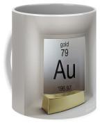 Gold Chemical Element Coffee Mug