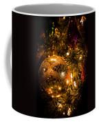 Gold Christmas Ornament Coffee Mug