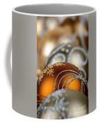 Gold Christmas Ornaments Coffee Mug