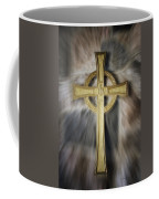 Gold Cross Coffee Mug