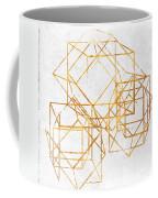 Gold Cubed II Coffee Mug