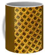 Gold Electron Micrograph Grid Coffee Mug