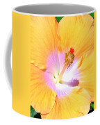 Gold Hibiscus Coffee Mug