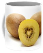 Gold Kiwifruit Coffee Mug