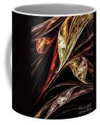 Gold Leaf Coffee Mug by Elizabeth McTaggart