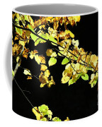 Gold On Black Coffee Mug