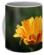 Gold Petals Coffee Mug